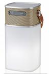 Bluetooth-Lautsprecher mit LED-Lampe