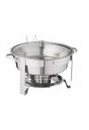 Chafing Dish rund, Wärmebehälter 4lt.