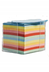 Notizzettelbox  inkl. Kunststoffbox 800 Blatt 9 x 9 cm 70 g/m2