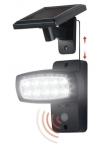 LED-Solarstrahler Sensorgesteuerter Flächenstrahler mit 10 LEDs und Bewegungsmelder