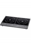 Double induction hotplate DIC3400 Black