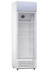 Commercial glass door refrigerator 624 lt.