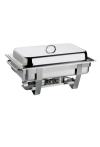 Chafing Dish -CHEF-, 61 x 31 cm, H:30 cm, 9 Liter, Edelstahl , VE: 1
