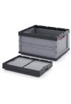 Faltbox aus Kunststoff | Klappbox 80 x 60 x 44,5 cm, 188L (ooc./geb. 1./2. Wahl)