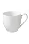 Tasse , Porzellan, Weiß , 100 ml, 1 Stück